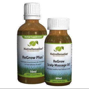 Native Remedies Native Remedies Healthy Hair ComboPack - ReGrow Plus + ReGrow Scalp Massage Oil