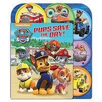 Studio Fun International PAW Patrol: Pups Save the Day: A Sliding Surprise Book