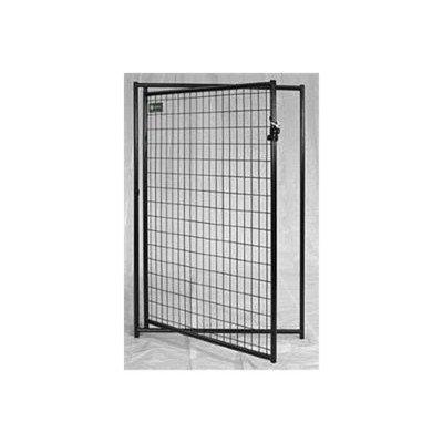 Jewett Cameron Lucky Dog Powder Coated Pet Gate Panel Size: 6' X 5'