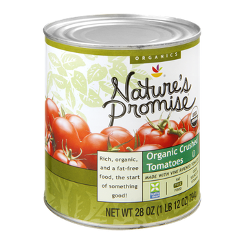 Nature's Promise Organics Tomatoes Crushed Organic