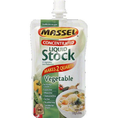 Massel Concentrated Liquid Vegetable Stock, 3.88 oz, (Pack of 6)
