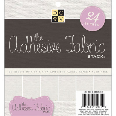 Adhesive Fabric Paper Stack 6