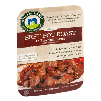 Niman Ranch All Natural Beef Pot Roast In Provencal Sauce