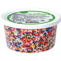 Xcell International Corp Dallies Rainbow Sprinkles, 10.5 oz