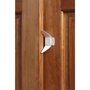 KidCo Adhesive Sliding Closet Door Lock 2 pack