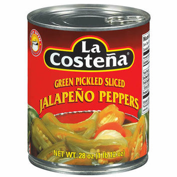 La Costena : Green Pickled Sliced Jalapeno Peppers