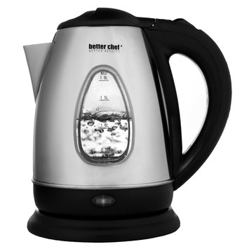 Impress 10-cup Stainless Steel Electric Cordless Water/ Tea Kettle