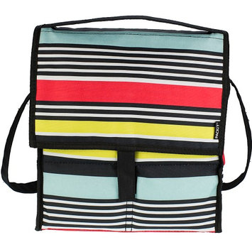 PackIt Freezable Gel-Liner Picnic Bag (Surf Stripe)