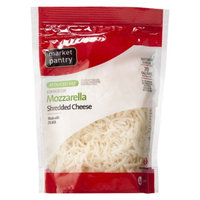 Market Pantry Reduced Fat Shredded Mozzarella Cheese - 8 oz.