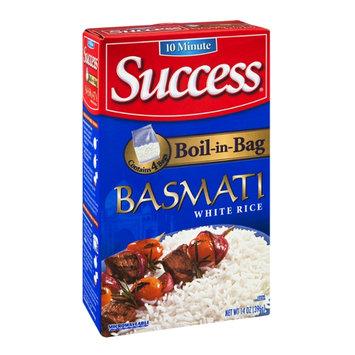 Success Boil-in-Bag White Rice Basmati - 4 CT