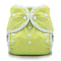 Thirsties Duo Wrap Snap, Honeydew, Size Two (18-40 lbs)