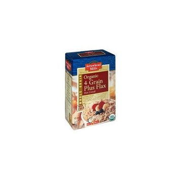 Arrowhead Mills Organic 4-Grain w/Flax Cereal (12x24oz)