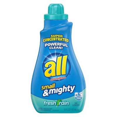 All Small and Mighty Fresh Rain Liquid Detergent 32 oz