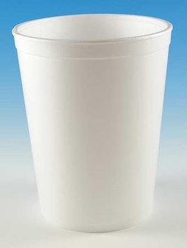WINCUP F32 Container, Disposable, White, 32 Oz, PK 250