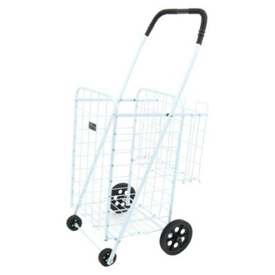 Narita Mini Shopping Cart Plus, White