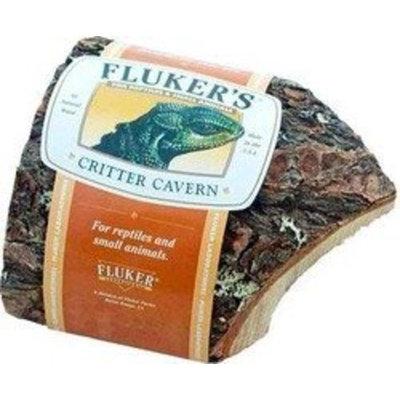 Fluker Labs SFK59010 Reptile Corner Half Log Hideout, Large