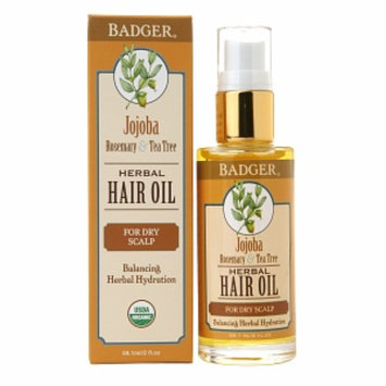 Badger Hair Oil Jojoba