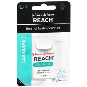 Reach Clean Burst Waxed Dental Floss