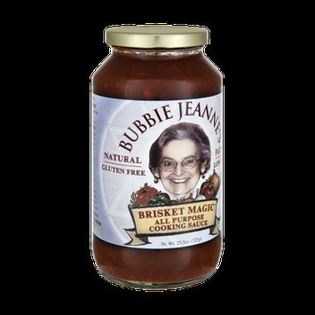 Bubbie Jeanne's Natural Gluten Free Fat Free Brisket Magic All Purpose Cooking Sauce
