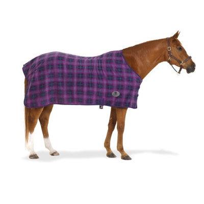 Centaur Plaid 220G Fleece Sheet 72