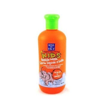 Kiss My Face Kids Bubble Wash 12 oz. Orange-U-Smart (3-Pack) with Free Nail File