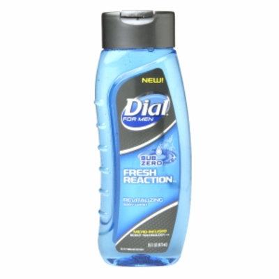 Dial For Men Dial for Men Body Wash Fresh Reaction, Sub Zero, 16 fl oz