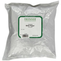 Frontier Pepper, White Fine Grind (40 Mesh), 16 Ounce Bag