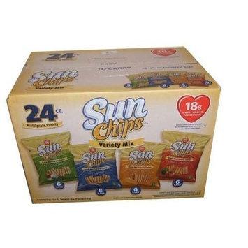 Sunchips Frito Lay Sun Chips Multigrain Variety box - 24 Bags