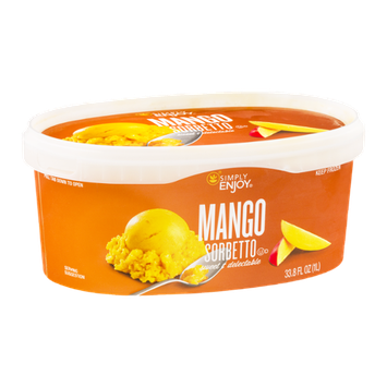 Simply Enjoy Mango Sorbetto