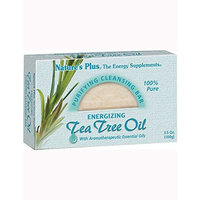 Nature's Plus - Tea Tree Oil Cleansing Bar, 3.5 oz boxes