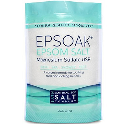 San Francisco Salt Company Epsoak Epsom Salt 10lb Bulk Bag