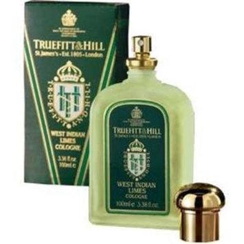Caswell Massey Truefitt & Hill West Indian Lime Cologne 3.38 fl oz