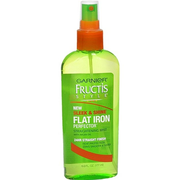 Garnier Fructis Style Sleek & Shine Flat Iron Perfector Straightening Mist 24 Hr Finish