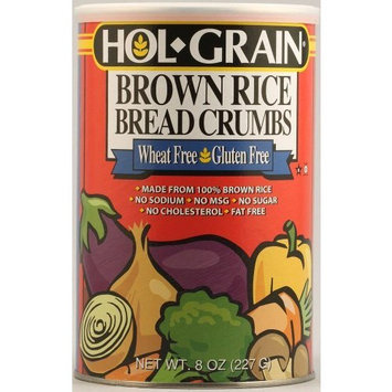 Holgrain Brown Rice Bread Crumbs Gluten Free -- 8 oz