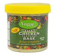 Vogue Cuisine Soup Base Chicken 4 OZ -Pack Of 12