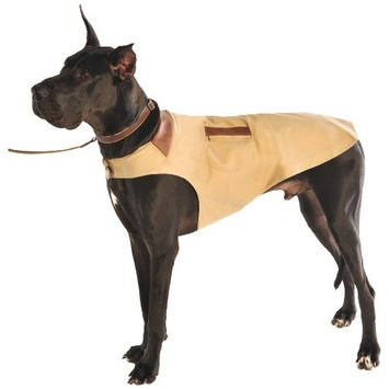 Dog Gone Smart Bed Dog Gone Smart 16-Inch Barn Jacket for Dogs, Wheat