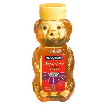 Honey Tree HoneyTree's Imitation Honey, Sugar Free, 12-Ounce Plastic Bears (Pack of 12)