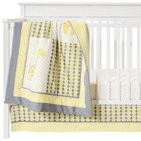 Pam Grace Creations Pam Grace Argyle Giraffe 10-Piece Crib Baby Bedding Set- Gender