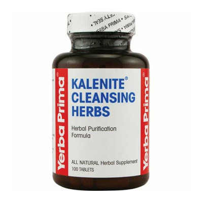 Yerba Prima Kalenite Cleansing Herb 100 Tablets