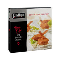 Phillips Spicy & Tangy Buffalo Shrimp Party Pack Appetizer - 24 CT