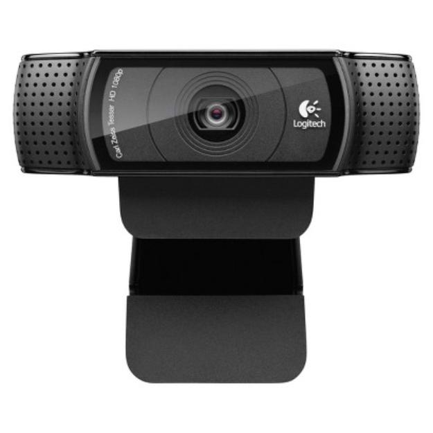 Logitech C920 HD Pro Webcam - Black (960-000764)