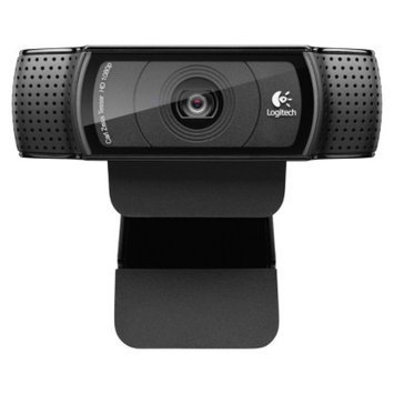 Logitech C920 HD Pro Webcam - Black (960-000764)