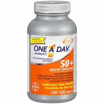 One A Day Woman's 50+ Healthy Advantage Multivitamin/Multimineral Supplement