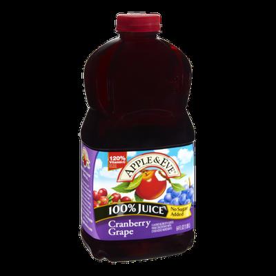 Apple & Eve Cranberry Grape 100% Juice