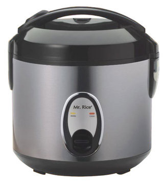 Sunpentown Stainless Steel 4 Cup Rice Cooker SC-0800S