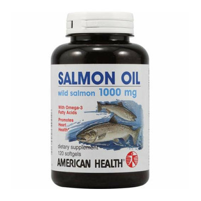 American Health Salmon Oil 1000 mg 120 Softgels