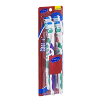 CareOne Clean + Toothbrushes Medium - 4 CT