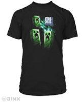 Jinx Minecraft Three Creeper Moon T-Shirt - Medium