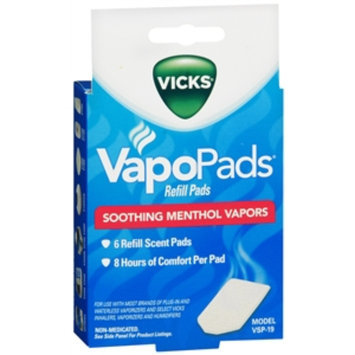 Vicks Soothing Menthol Scent Pads