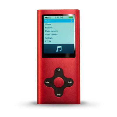 Eclipse 180 G2 4GB MP3 Player, Assorted Colors